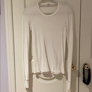 Splendid White Long Sleeve Medium